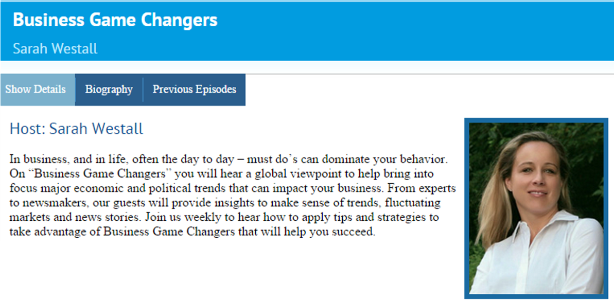 Business Changers Interview
